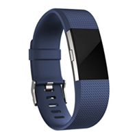FitBit Large Classic Band for Charge 2 Fitness Tracker - Blue