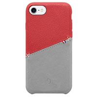 Decoded Leather Snap-On Case for iPhone 7 - Reg/Gray