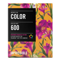 Impossible Color Instant Film Poison Paradise Edition for Polaroid 600 - 8 Pack