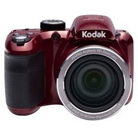 Kodak PIXPRO AZ401 16 Megapixel Wide Angle Lens Digital Camera  - Red