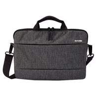 "InCase City Brief Case for MacBook Pro 13"" - Heather Black/Gunmetal Gray"