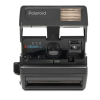 Impossible Polaroid Refurbished 600 Square Instant Camera - Black