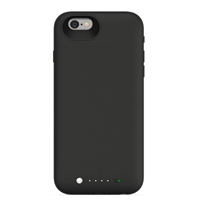 Mophie Space Pack Case for iPhone 6/6S - Black