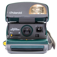 Impossible Polaroid Refurbished 600 Round Instant Camera - Green