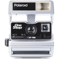 Impossible Polaroid Refurbished 600 Square Instant Camera - Silver