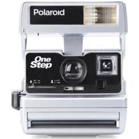 Impossible Polaroid Refurbished 600 Square Instant Camera - Silver