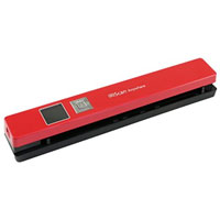 I.R.I.S Scan Anywhere 5 Portable Scanner (Red)