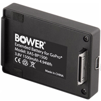 Bower Xtreme Action Series 1500mAh Extended Backdoor Battery Pack