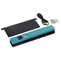 I.R.I.S Scan Anywhere 5 Portable Scanner (Turquoise)