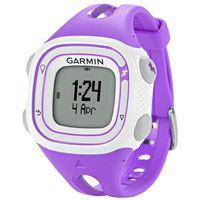 Garmin Forerunner 10 Fitness Tracker - Violet/White