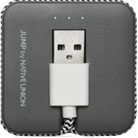 Native Union Lightning Jump Cable - Zebra