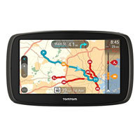 "Tom Tom GO 60 6"" GPS Navigator w/ Lifetime Maps"