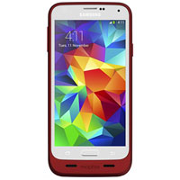 Mophie Juice Pack Battery Case for Samsung Galaxy S5 - Red