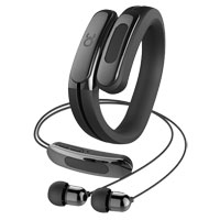 Rowkin Helix Cuff Wireless Headphones - Black
