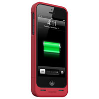 Mophie Juice Pack Plus Case for iPhone 5/5S - Red