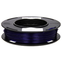 MakerBot Small 1.75mm Sparkly Dark Blue PLA 3D Printer Filament - 0.2kg Spool (0.5 lbs)