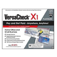 Global Biz Force VersaCheck X1 Platinum UV Secure - 2017