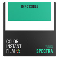 Impossible Color Instant Film for Polaroid Spectra - 8 Pack