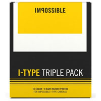 Impossible Instant Film Triple Pack for Polaroid I-Type - 24 Photos