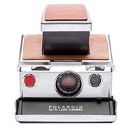 Impossible Polaroid Refurbished SX-70 Instant Camera - Silver