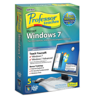Individual Software Professor Teaches - Windows 7 (PC)