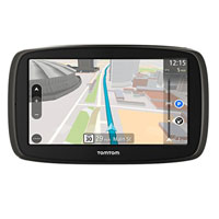 "Tom Tom GO 60S 6"" GPS Navigator w/ Lifetime Maps"