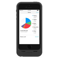Mophie Space Pack Case for iPhone 5/5S - Black