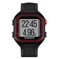 Garmin Forerunner 25 Smartwatch Large Refurbished - Black/Red