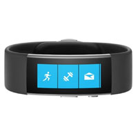 Microsoft Band 2 Fitness Tracker Medium - Black