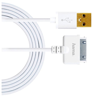 Hama Apple 30-pin Charge/Sync Cable 3ft