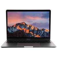 "Apple MacBook Pro with Touch Bar FLH12LL/A 13.3"" Laptop Computer Apple Certified Refurbished - Space Gray"