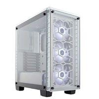 Corsair Crystal 460X RGB ATX Mid-Tower Computer Case - White