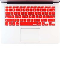 iBenzer Macaron Keyboard Cover for MacBook Pro - Red