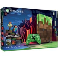 Microsoft Press Xbox One S Minecraft 1TB