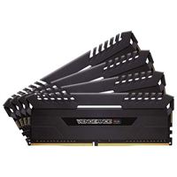 Corsair Vengeance RGB 32GB 4 x 8GB DDR4-3200 PC4-25600 CL16 Quad Channel Desktop Memory Kit
