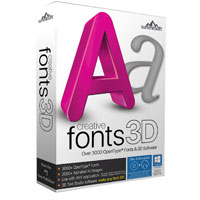 SummitSoft Creative Fonts 3D