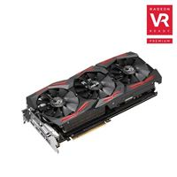 ASUS ROG Strix Radeon RX Vega64 Overclocked Triple-Fan 8GB HBM2 PCIe Video Card