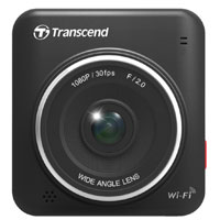 Transcend DrivePro 200 Wi-Fi Dash Camera w/ 16GB MicroSD Card