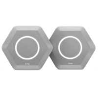 Luma. Gray AC1300 Dual-Band Gigabit Home WiFi System - 2 Pack