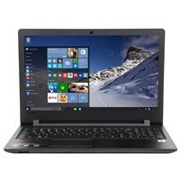 "Lenovo Ideapad 110 15 15.6"" Laptop Computer Factory Refurbished - Black"