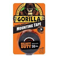Gorilla Glue Mounting Tape 60' x 1' - Black
