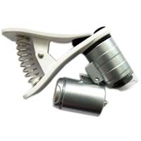 Enkay Products 60x Zoom LED Lighted Clip-on Microscope