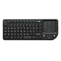 Ritek Advanced Media Mini Wireless Keyboard with Mouse Touchpad