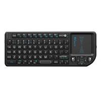 Ritek Advanced Media Mini Wireless Keyboard with Mouse Touchpad