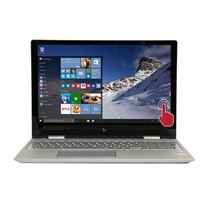 "HP ENVY x360 Convertible 15-bp023ca 15.6"" 2-in-1 Laptop Computer Refurbished - Silver"