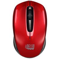 Adesso iMouse S50 Wireless Mini Mouse - Red