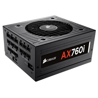 Corsair AX Series AX760i 760 Watt 80 Plus Platinum Modular ATX Power Supply Refurbished