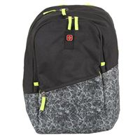 "Swiss Gear Wenger CISCO Laptop Backpack Fits Screens up to 16"" - Black / Gray Ice"