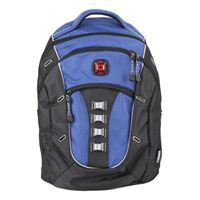 "Swiss Gear Laptop Backpack Fits Screens up to 16"" - Blue/ Black"