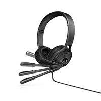 HP Pavilion USB 500 Headset - Black